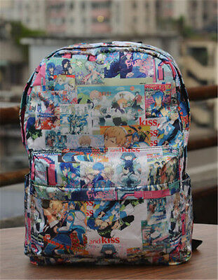 DRAMAtical Murder DMMd Seragaki Aoba print backpack Shoulder Leisure school bag