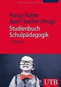 Studienbuch-Schulpaedagogik-von-Ludwig-Haag-Sibylle-Rahm-Buch-Zustand-gut