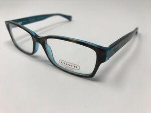 2c5c6adfab0a Image is loading Coach-Eyeglasses-Brooklyn-HC6040-5116-Tortoise-Teal-Optical -
