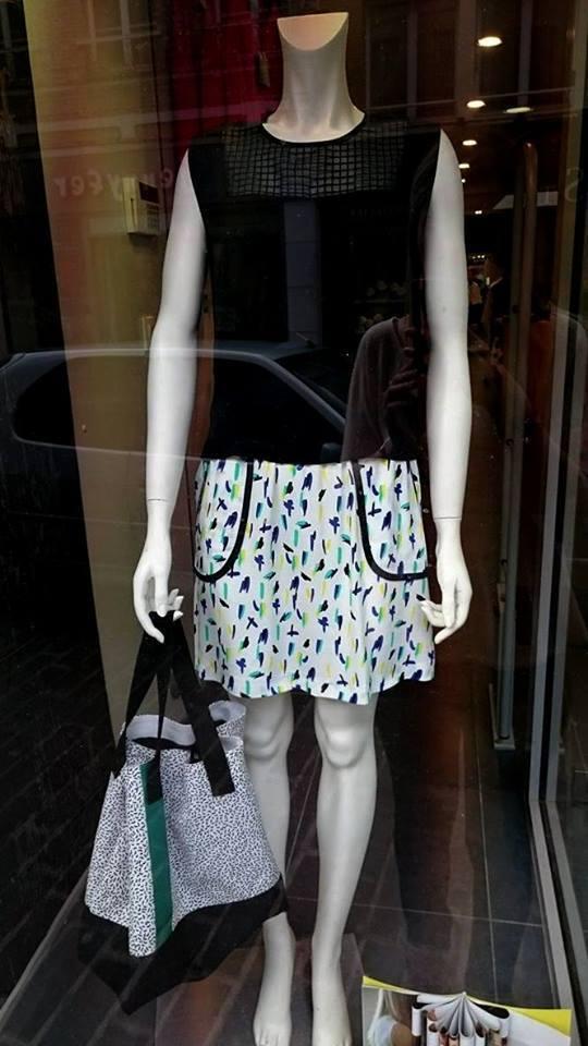 COP COPINE ETE 2016   jupe modèle WINZ, étiquetée valeur  (-50%)