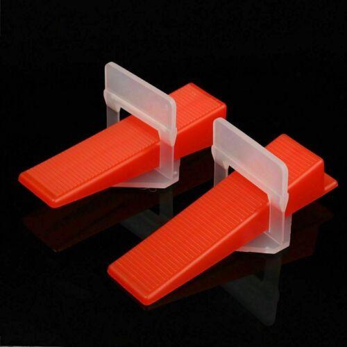 1//8/'/' 200-2000PCS Tile Leveling System Clips Tiles Leveler Spacers Tool 1//16/'/'
