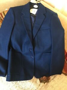 62acfcd2c38 Ex John Lewis stunning Women's/girls Royal 100% wool Blazer size 14 ...