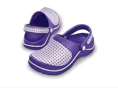 Nuevas Crocs Junior Crosmesh Niños Chicas zuecos Zapatos Sandalias-de lactantes y niños Tamaños