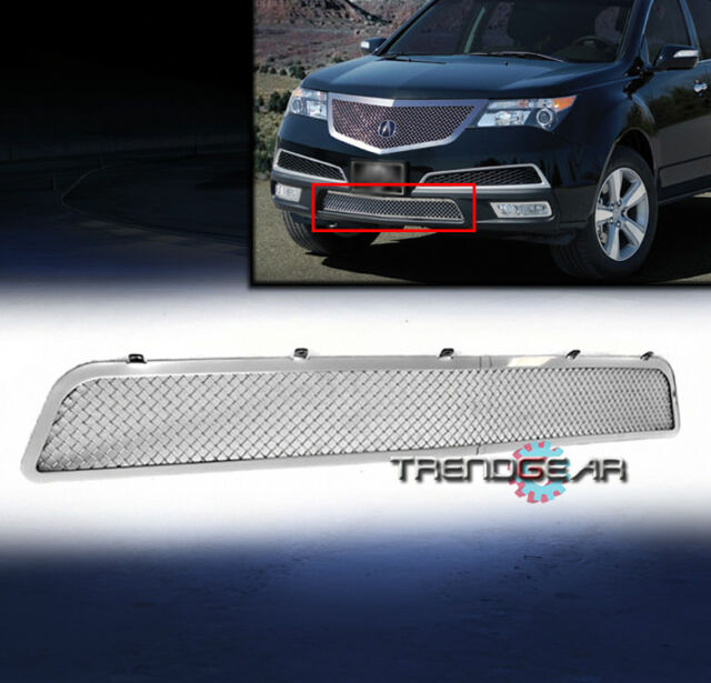 2010-2013 ACURA MDX FRONT BUMPER STAINLESS STEEL MESH