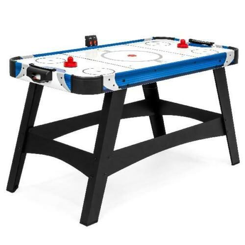 Large Air Hockey Table 54in Game Room Office w//2 Pucks 2 Pushers LED Score Board