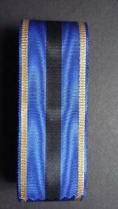 BELGIQUE-Ruban-Ordre-de-Leopold-II-Services-de-guerre-eclatants-38-mm-ancien