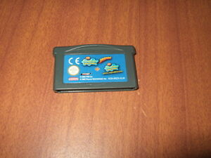 Spongebob-Schwammkopf-2-in-1-Modul-Gameboy-Advance-GBA