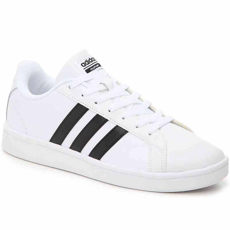MENS - Adidas CF Advantage ,  SIZE  9.5  , color  White   Black