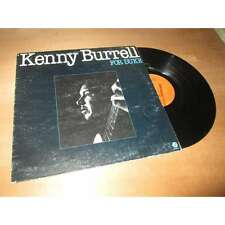 KENNY BURRELL - for duke - GUITAR JAZZ FANTASY French Lp 1980