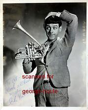 ISH KABIBBLE - PHOTOGRAPH - AUTOGRAPH - 1951 - JAZZ CORNET MUSICIAN - KAY KYSER