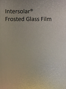 Frosted Glass Film Bedroom Bathroom Office Window Tint Static Cling Intersolar®