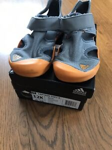 99cb388b9 Image is loading Adidas-Captain-Toey-Sandal-Size-12K-Grey-And-