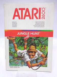 Anleitung-Handbuch-Bedienungsanleitung-Atari-Jungle-Hunt