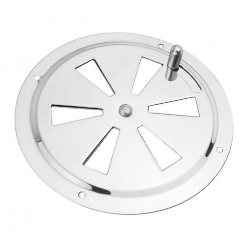 128mm//5.04inch Round Air Stainless Steel Air Vent Grille Duct Ventilation Cover