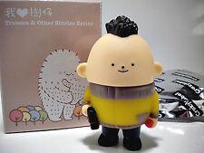 Treeson vinyl figure - CHESTNUT school boy standing - Series 2  - Bubi Au Yeung