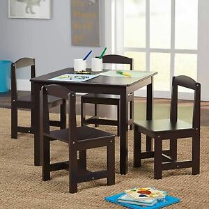 Image Is Loading Hayden Kids 5 Piece Table And Chairs Set