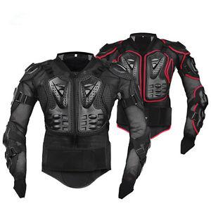 Giacca-da-Moto-Protezione-Motocross-Quad-Scooter-Corpo-Armatura-Enduro-Completa