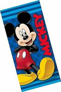 Disney Beach Bath Towel 100/% Cotton Happy Helper Disney Minnie Mouse Clubhouse Fiber Reactive Beach Towel
