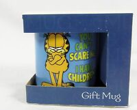 Leanin' Tree Ceramic Gift 12oz Coffee Mug Garfield You Can't Scare Me