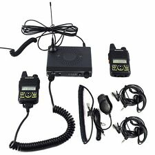 Baofeng MINI-1 Mobile Car Radio Walkie Talkie UHF400-470MHz 20CH 15W with cable