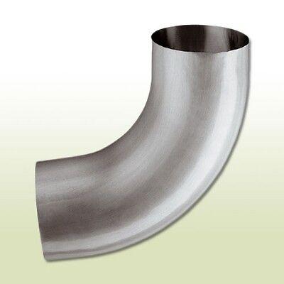 Aluminium Fallrohrbogen Dn 87/85 Grad Heimwerker Regenrinnen & Zubehör