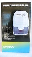 Ivation Mini Dehumidifier 250ml Per Day 500ml Translucent Water Tank >NEW<