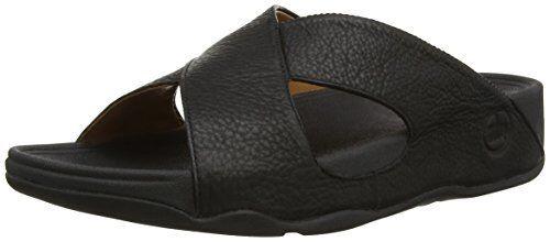 Sandali e scarpe per il mare da uomo FitFlop uomos Xosa In Leather Slide Sandal- Pick SZ/Color.