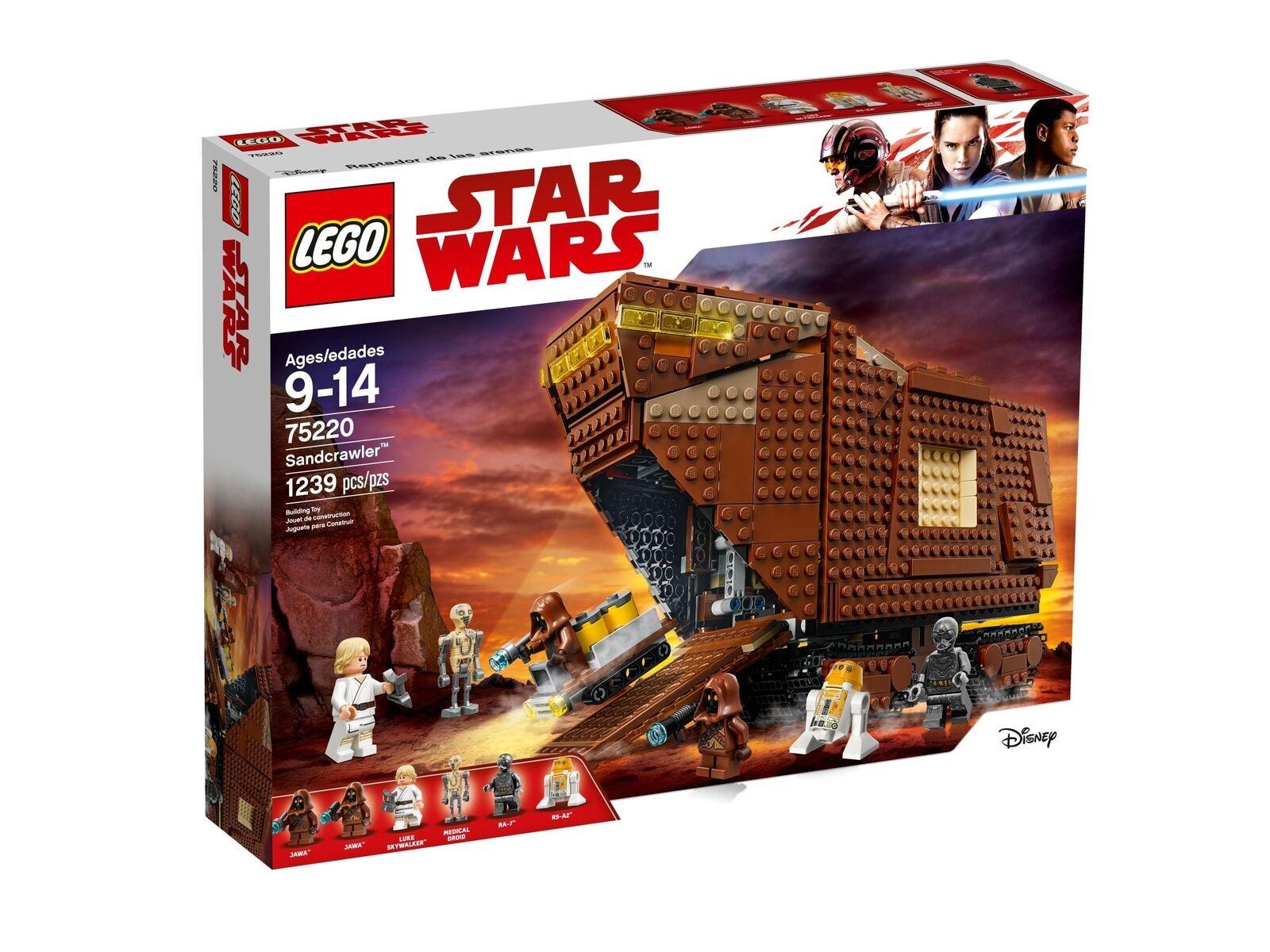 Lego Star Wars™ 75220 Sandcrawler™ Nuevo Embalaje Original Misb