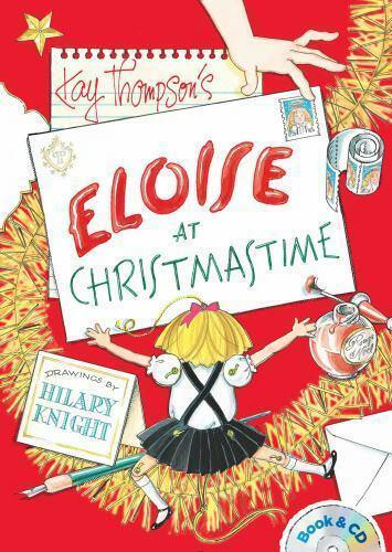 Eloise at Christmastime: Book & CD by Kay Thompson (PB) New, Free Shipping