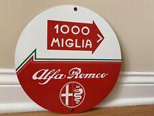 Italian Autostrada Highway Ferrari Lamborghini Alfa Fiat Reproduction Sign