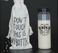 BTS Kpop Bottle KPOP Merchandise Bangtan Boys with Storage Pouch