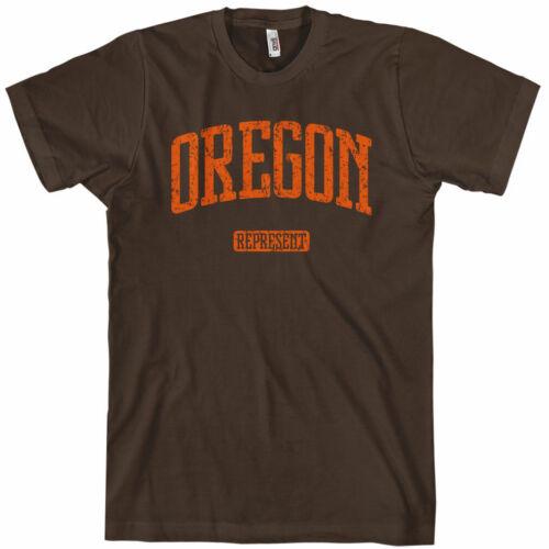 OREGON REPRESENT T-shirt Portland 503 PDX Ducks Beavers Trail Blazers XS-4XL