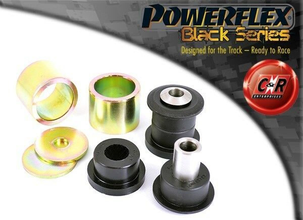 BMW E81 1series 3dr 04on POWERFLEX Negro RR UPP LATERAL arm-hub Cojinete