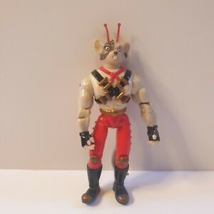 Biker-Mice-From-Mars-Vinnie-Galoob-action-figure-Retro-1994-red-trousers