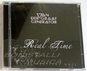 VAN-DER-GRAAF-GENERATOR-REAL-TIME-ROYAL-FESTIVAL-HALL-2-CD-Nuovo-Unplayed