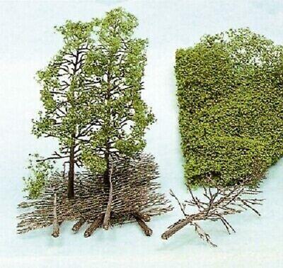 Heki 1971 - Set 10 Baumrohlinge, Tree, Alberi 18cm - Nuovo