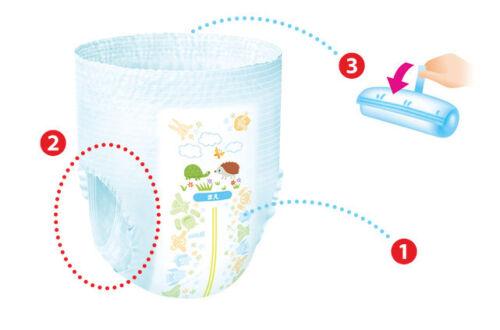 50pieces 44 pieces Boy//Girl L GooN Japanese Diapers Pants Pants type XL