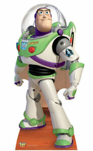 BUZZ-LIGHTYEAR-LIFESIZE-CARDBOARD-CUTOUT-STANDUP-Standee-Toy-Story-Disney-Pixar