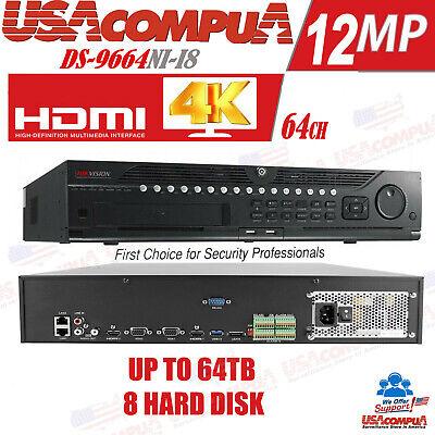NVR 64CH Upto 4K HDMI 0HDD