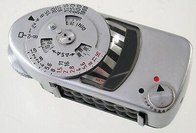 Leitz Leica Meter Mc Metra 14200 Belichtungsmesser Exposure Defekt As Is /18 AusgewäHltes Material Foto & Camcorder Belichtungsmesser