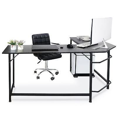 66 Modern L Shaped Computer Desk Large, Round Computer Table