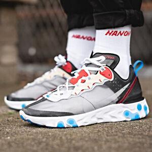 Nike React Element 87 Sneakers Dark