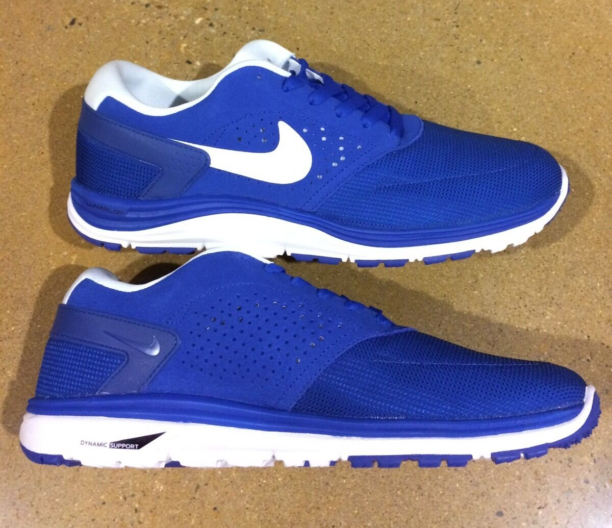 Nike sb lunar rod sz 13 gioco royal white paul rodriguez 6 6 msrp pattinare correre
