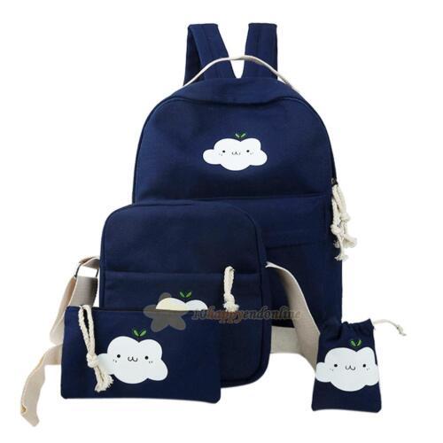 Cute Womens Travel Satchel Handbag Shoulder Bag Fashion Backpack School Rucksack