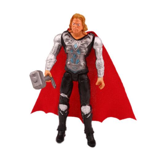 Marvel Avengers Deadpool Spiderman Superheld Modell PVC Actionfigur Puppe