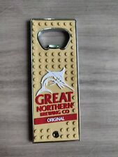 Great Northern Bottle Opener steel and rubber