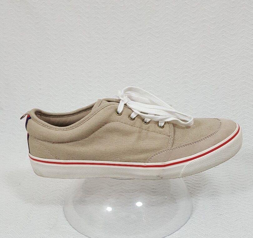 GAP Size Men's Beige Canvas Sneaker Size GAP 10 963e33