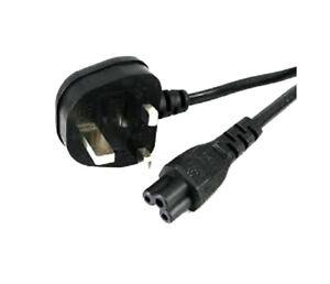 C5-Cable-plomb-UK-Prise-de-type-pour-ordinateur-portable-Adaptateur-Ordinateur-Portable-Dell-Power