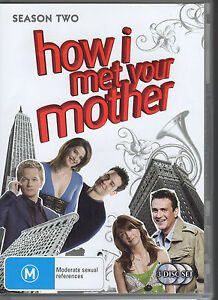 HOW-I-MET-YOUR-MOTHER-SEASON-TWO-3-DVD-SET-R4-VERY-GOOD-FREE-POST