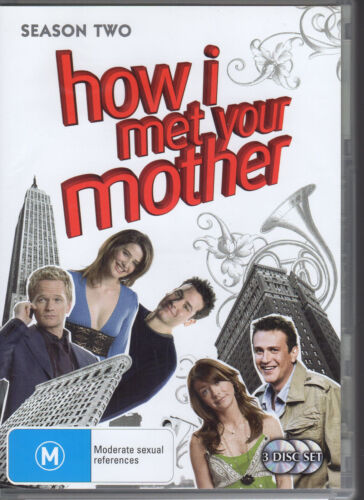 1 of 1 - HOW I MET YOUR MOTHER - SEASON TWO - 3 DVD SET R4 - VERY GOOD - FREE POST